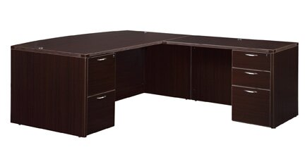 Fairplex Drawer L-Shape Executive Desk by Flexsteel Contract