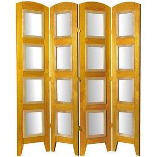 Salvaggio 4 Panel Room Divider by Bloomsbury Market