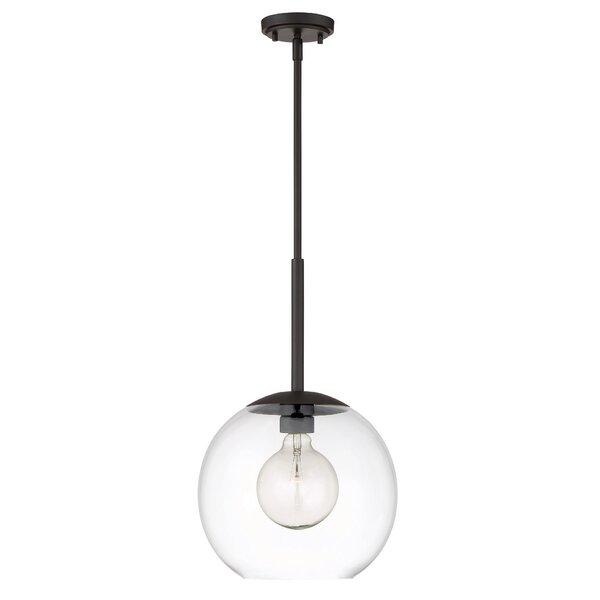 Cesar 1-Light Globe Pendant by Langley Street