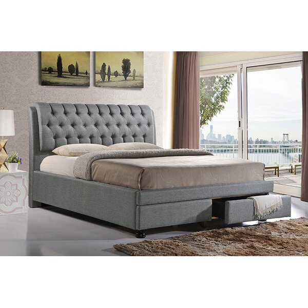 Letchworth Upholstered Storage Platform Bed by Everly Quinn