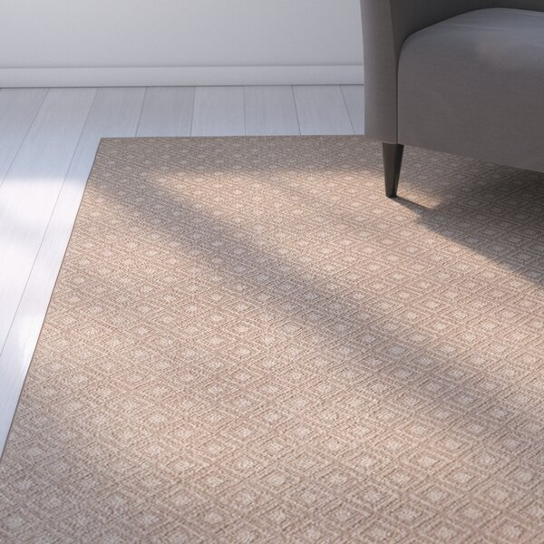Bettie Hand-Tufted Taupe Area Rug by Latitude Run