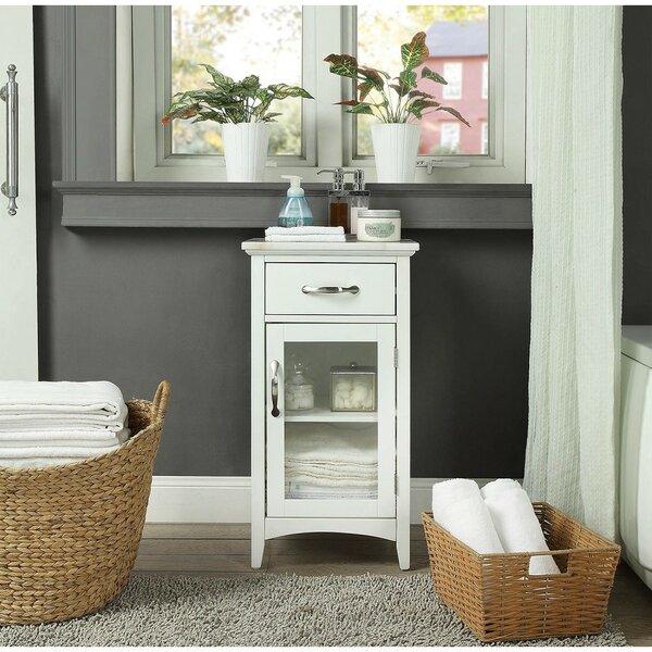 Rosati 16'' W x 30'' H x 13'' D Linen Cabinet