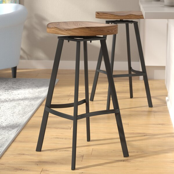 Bryson 31.5 Swivel Bar Stool (Set of 2) by Brayden Studio