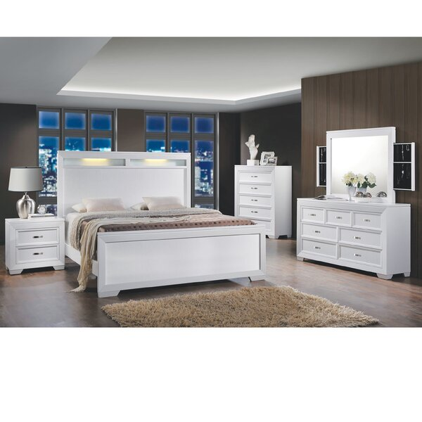 Scalf Queen Panel 4 Piece Bedroom Set by Orren Ellis