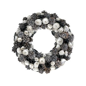 Flower Ribbon Pinecone 18