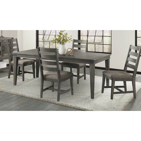 Padiham 5 Piece Extendable Solid Wood Dining Set by Alcott Hill Alcott Hill