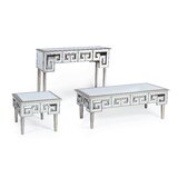 Heritage 3 Piece Coffee Table Set by Mercer41