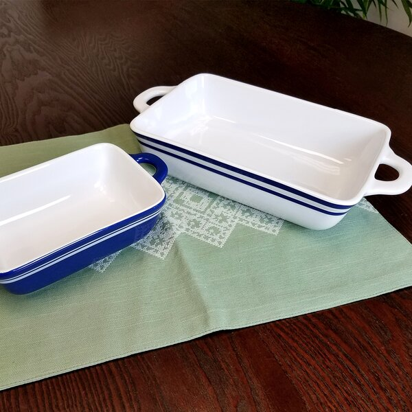 Kellner 2 Piece Baking Dish Set by Breakwater Bay