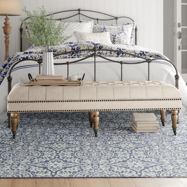 Walkerton Upholstered Bench by Birch Lane Heritage Birch Lane™ Heritage