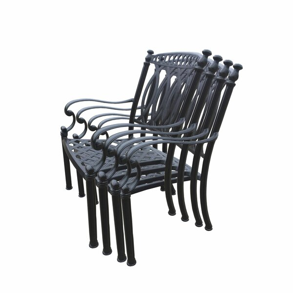 Hampton Aluminum 11 Piece Dining Set with Cushions by Oakland Living