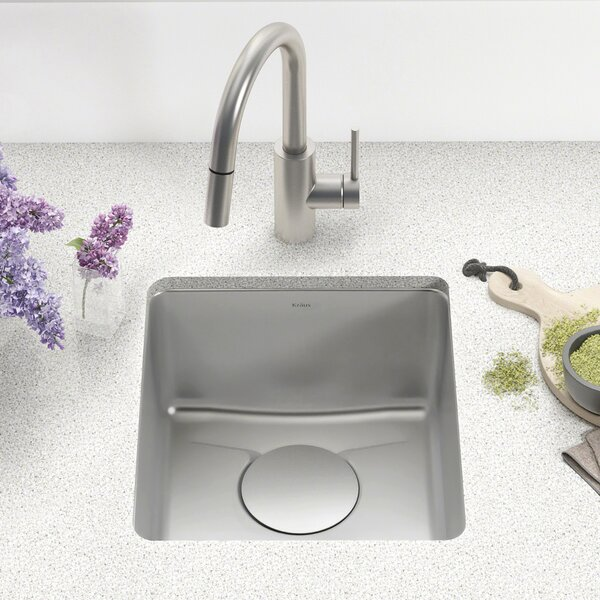 Dex™ Series 17 x 19 Undermount Bar Sink by Kraus