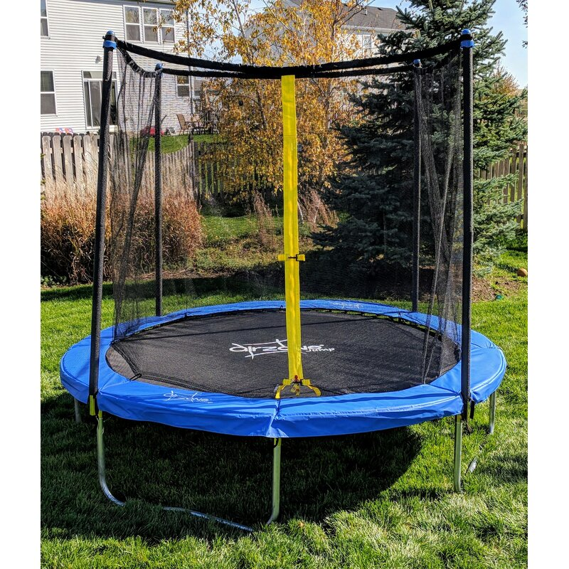 AirZone Play Backyard 8' Round Trampoline with Safety ...