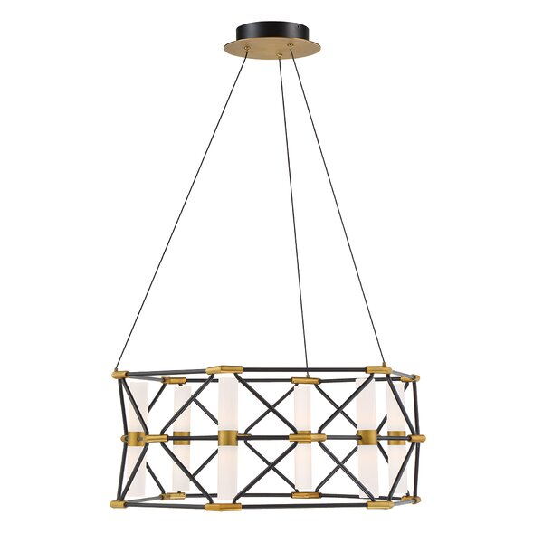 Labyrinth 6-Light LED Drum Chandelier by Modern Forms