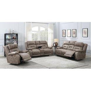 Aprill Power Reclining Configurable Living Room Set by Red Barrel Studio®