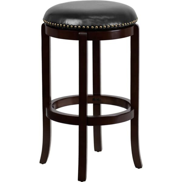Lindemann 30 Swivel Bar Stool by Alcott Hill