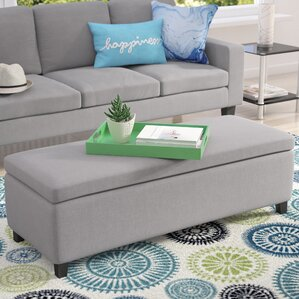 Ewan Upholstered Storage Bench by Zipc..