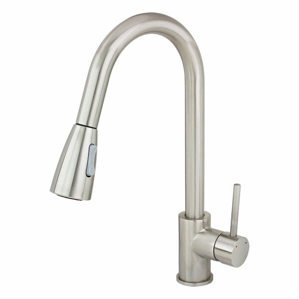 Pull Out Bar Faucet with Side Spray by Kokols