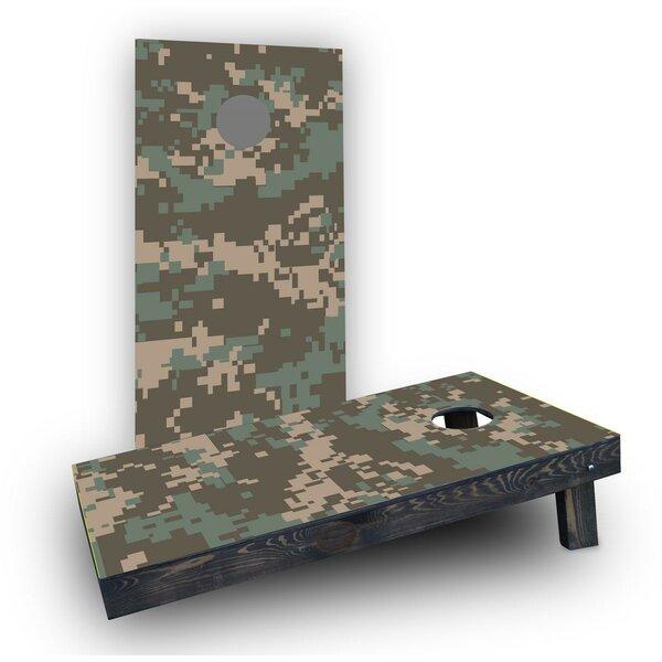 Digital Pixelated Camouflage Cornhole (Set of 2) by Custom Cornhole Boards