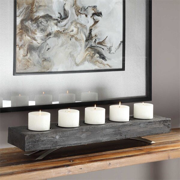 Wood Candelabra by Foundry Select
