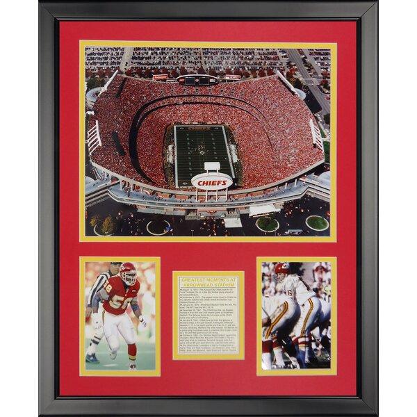NFL Kansas City Chiefs - Arrowhead Stadium Framed Memorabili by Legends Never Die