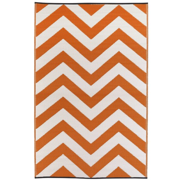Laguna Orange Peel World Indoor/Outdoor Area Rug by Fab Habitat