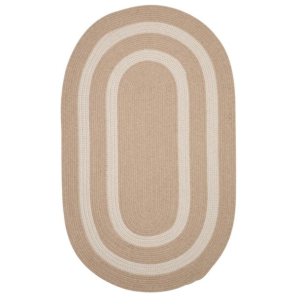 Westfield Hand-Woven Wool Beige Area Rug by Darby Home Co