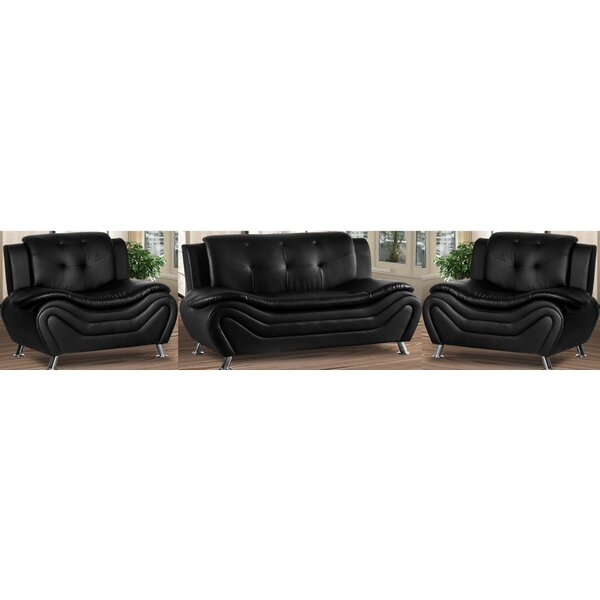 Gilliard 3 Piece Living Room Set By Orren Ellis