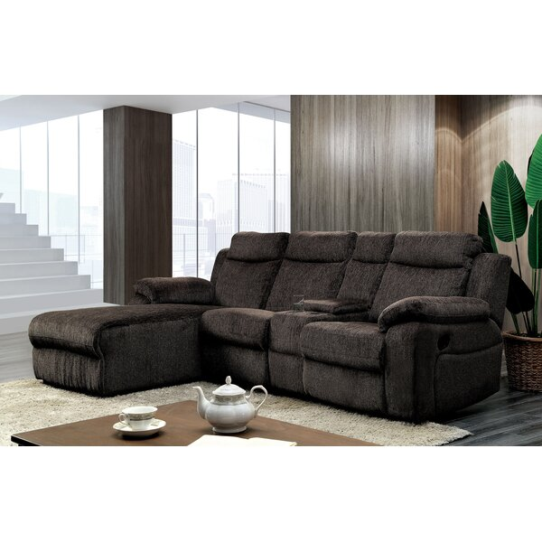 Burnam Left Hand Facing Reclining Sectional By Red Barrel Studio