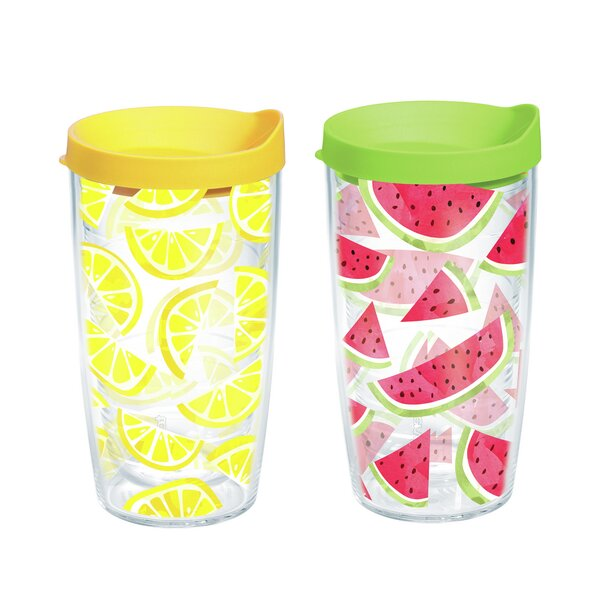 2 Piece Plastic Travel Tumbler Set by Tervis Tumbler