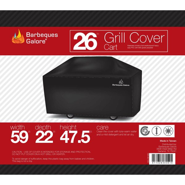 Grand Turbo Grill Cover by Barbeques Galore