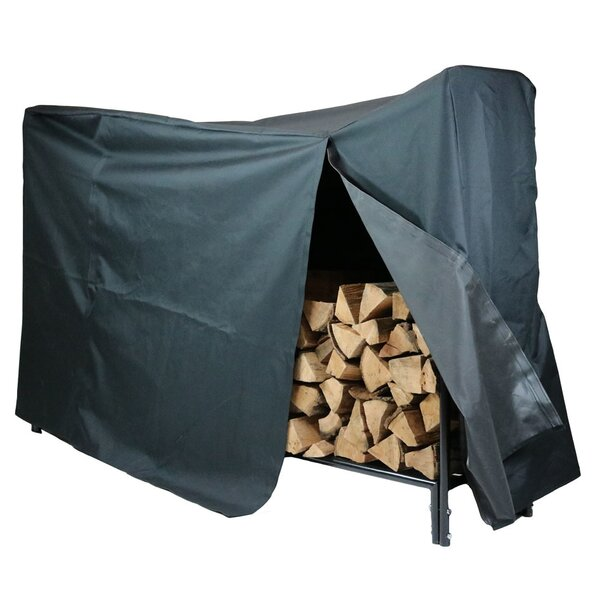 Cadence Decorative Firewood Log Rack and Cover by WFX Utility