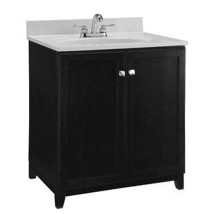 Best Reviews 30 Single Bathroom Vanity Base Only ByDesign House