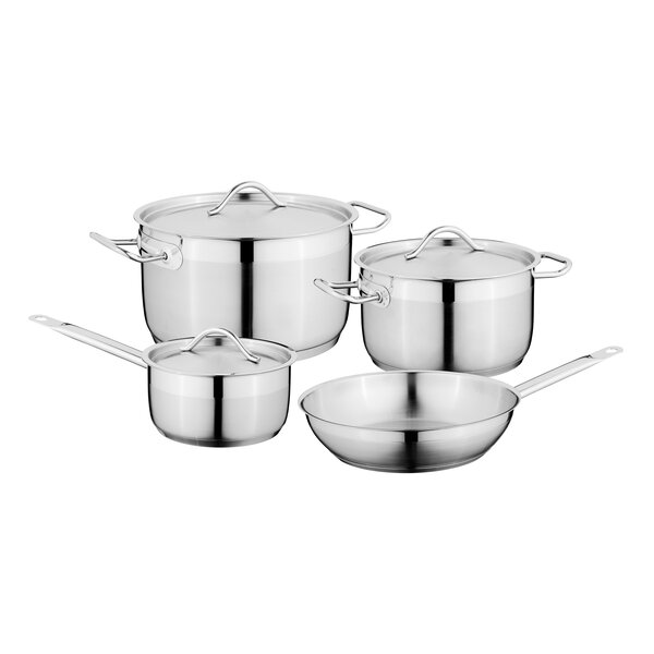 Hotel 7-Piece Stainless Steel Cookware Set by BergHOFF International