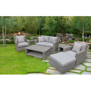 Harvey 5 Piece Sofa Set with Cushions By Red Barrel Studio