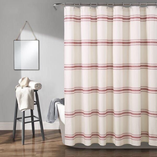 Matterson Stripe Cotton Shower Curtain by Eider & Ivory