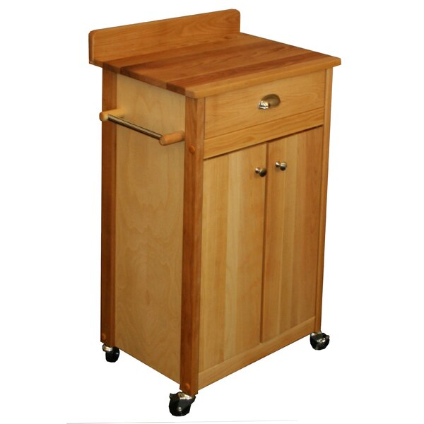 Butcher Block Kitchen Cart by Catskill Craftsmen, Inc.