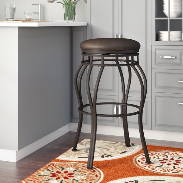 Cedar 34 Swivel Bar Stool by Darby Home Co