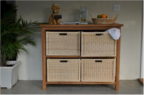 Modena Solid Wood Buffet & Console Table by Anderson Teak