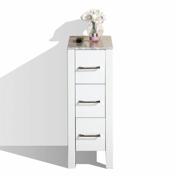 Temperance Modern Side 12 W x 32.7 H Cabinet by Latitude Run