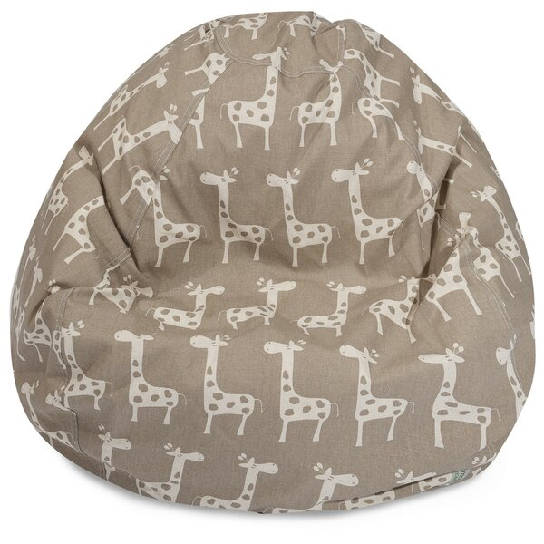 Standard Bean Bag Chair & Lounger By Bungalow Rose