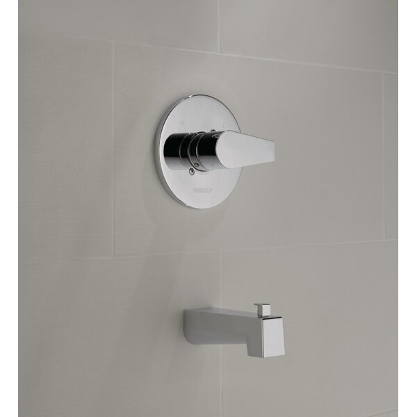 Xander Single Handle Wall Mounted Tub Spout with Diverter by Peerless Faucets Peerless Faucets
