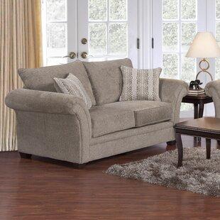 Serta Upholstery Belmont Loveseat by Three Posts