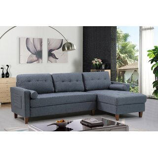 Weatherall Left Hand Facing Tufted Sectional by George Oliver SKU:AC215048 Order