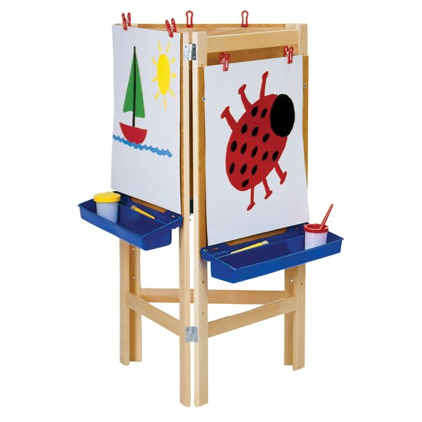 Folding Board Easel by Jonti-Craft