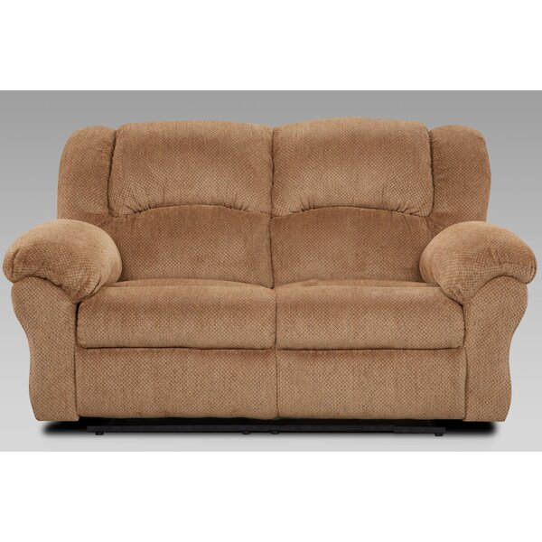Pfarr Reclining Loveseat by Winston Porter