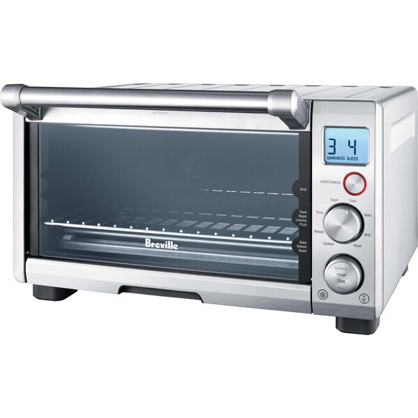 Compact Smart Toaster Oven By Breville.