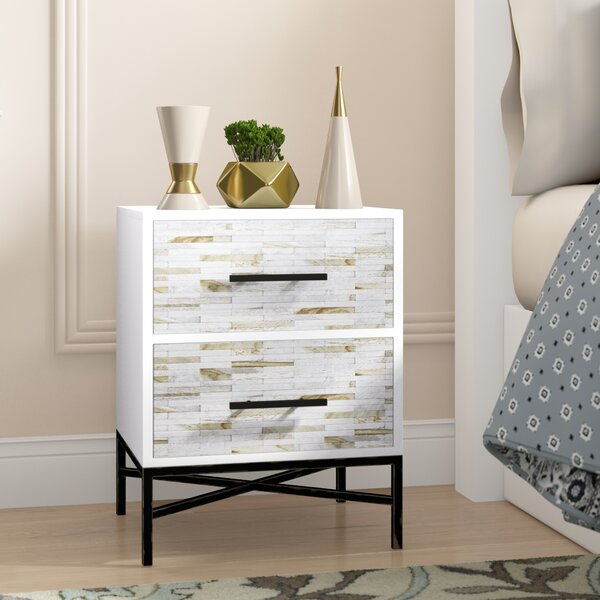 Pawlowski 2 Drawer Nightstand by Brayden Studio