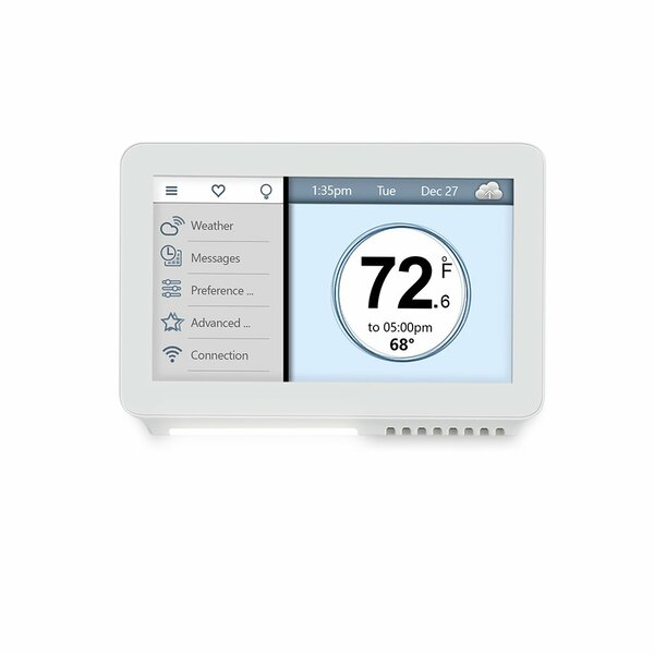 Review Vine White Thermostat