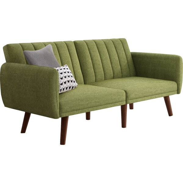 Fynn Square Arm Sofa Bed By Hashtag Home