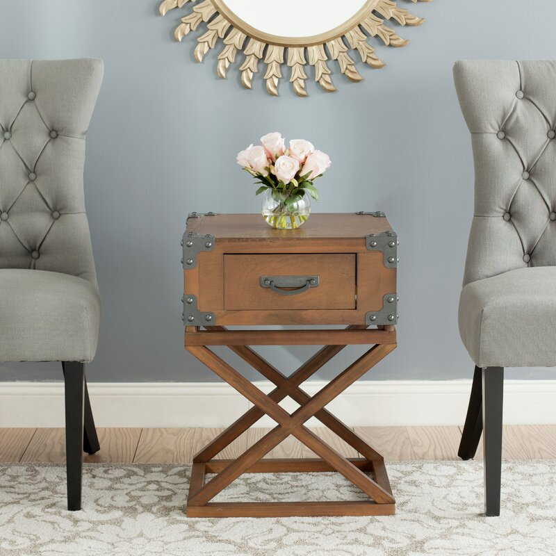 Exceptional Agoura Hills Dunstan End Table With Storage